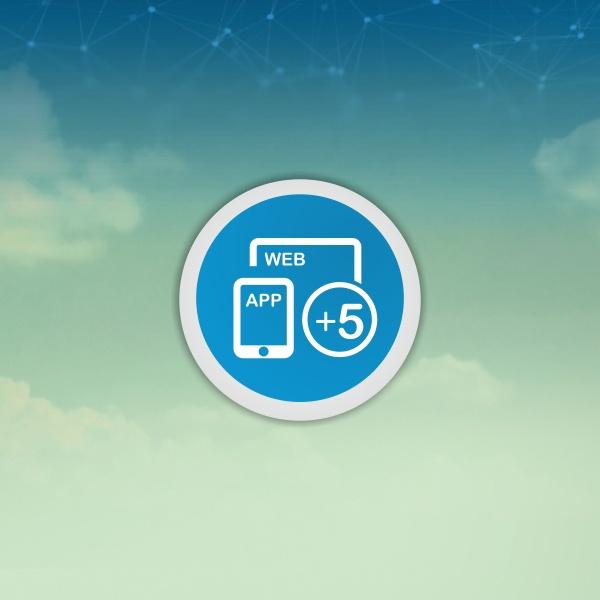 TiMaS Zeiterfassung per App für 5 Mitarbeiter