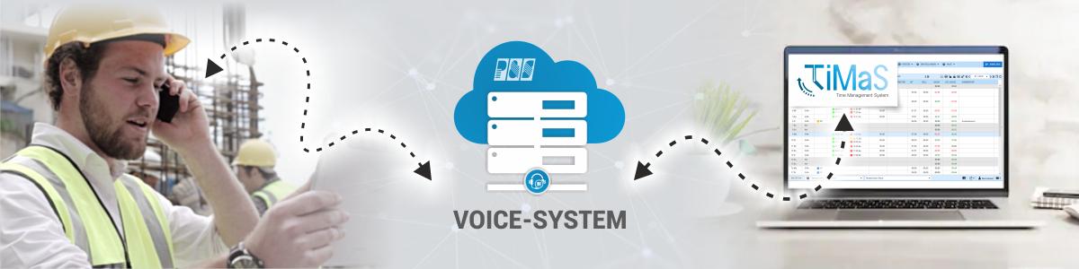 Telefonzeiterfassung per Voice-System